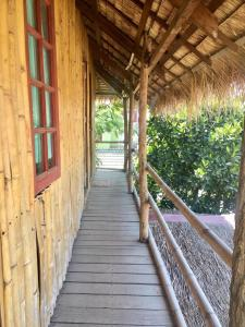 A balcony or terrace at Sin Yaw Guesthouse
