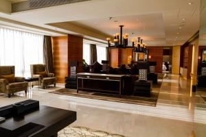 The lobby or reception area at The Westin Guangzhou
