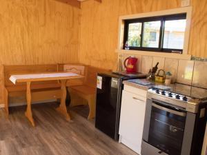 A kitchen or kitchenette at Rincón del Gaucho