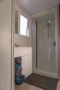 A bathroom at Camping Ettelbruck