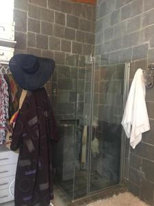 A bathroom at Apart Hotel Abedules