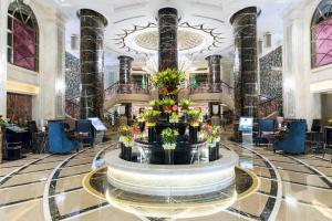The lobby or reception area at Narcissus Hotel and SPA Riyadh