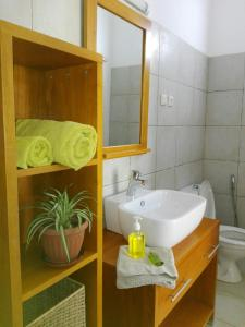 A bathroom at Urban Lodge