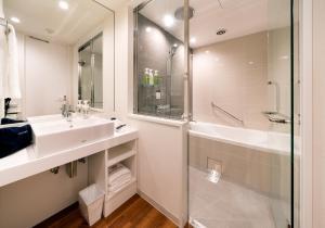 A bathroom at Daiwa Roynet Hotel Nishi-Shinjuku