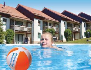 Der Swimmingpool an oder in der Nähe von Ferienanlage Harzfreunde