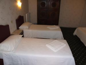 A bed or beds in a room at Hotel Texas