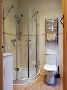 Koupelna v ubytování Ewich House B&B