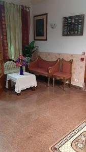 A seating area at Residencial Central