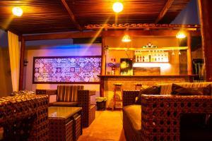 O lounge ou bar de Pousada Portal da Ilha