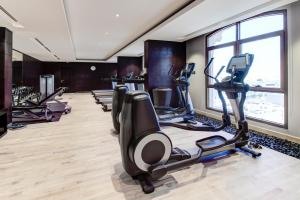 The fitness center and/or fitness facilities at Narcissus Hotel and SPA Riyadh
