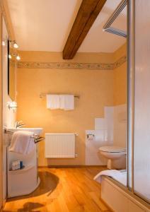 A bathroom at Davidshof, Bed & Breakfast