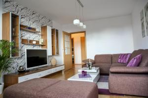 Posedenie v ubytovaní SGL apartment Liptovska