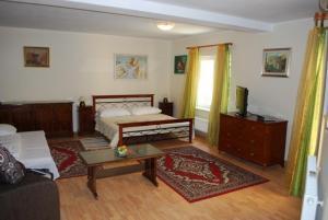 Posteľ alebo postele v izbe v ubytovaní Penzion da Giacomo