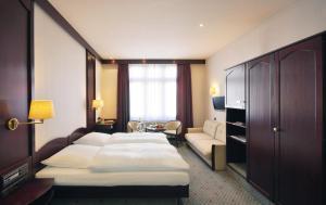 Cama o camas de una habitación en Hotel Imperial