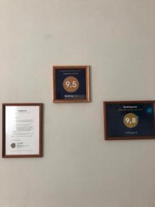 Сертификат, награда, вывеска или другой документ, выставленный в ЛОН-ДОН 2