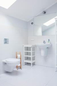 A bathroom at Villa Sopocka