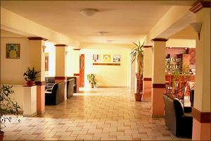 Лобби или стойка регистрации в Ekali Hotel
