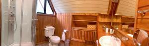 A bathroom at Chalet de Montaña-Espacio y Tiempo