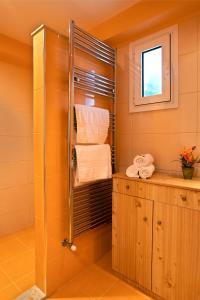 A bathroom at Mediterranean Apartment by the Sea