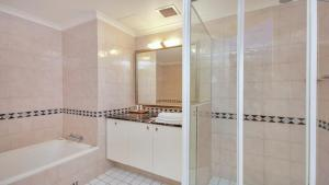 A bathroom at Apartment in the Heart of Chatswood