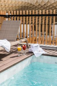 The swimming pool at or near Hotel Casa de Indias By Intur