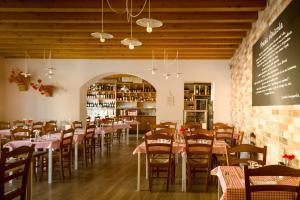Restaurace v ubytování Locanda All'Avanguardia