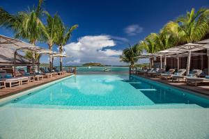 The swimming pool at or near Le Barthélemy Hotel & Spa