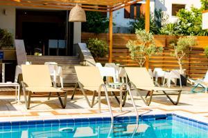 Piscina di Bourtzi Hotel o nelle vicinanze