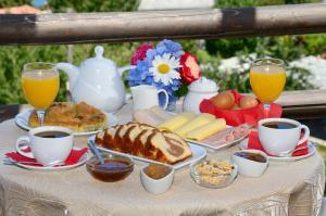Options de petit-déjeuner proposées aux clients de l'établissement Hotel Zagora