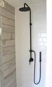 Een badkamer bij B&B Villa Verde