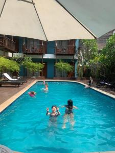 The swimming pool at or near Champa Boutique Hotel