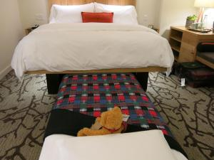 A bed or beds in a room at Hotel Vermont Burlington