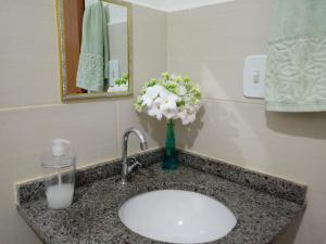 A bathroom at Casa Aeroporto/UFAL
