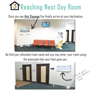 The floor plan of NEST Dayrooms