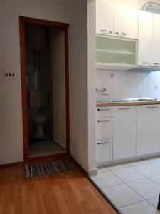 A kitchen or kitchenette at Accommodation Drasko
