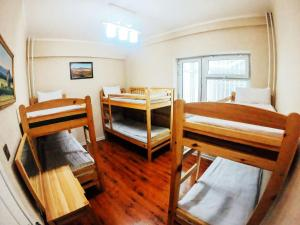 A bunk bed or bunk beds in a room at Top Tour & Guesthouse Mongolia