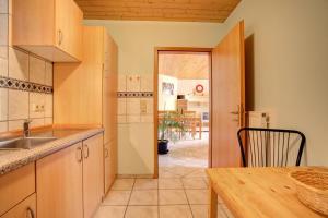 Küche/Küchenzeile in der Unterkunft Apartment Liesertal