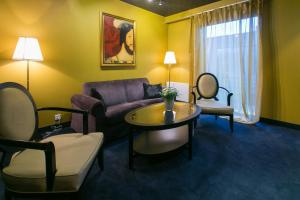 A seating area at Arensburg Boutique Hotel & Spa