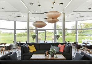 En restaurant eller et andet spisested på Comwell Køge Strand
