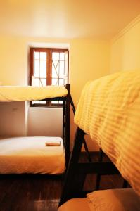 A bunk bed or bunk beds in a room at Arche Noah Boutique Hostel