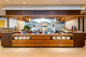 Een restaurant of ander eetgelegenheid bij Hyatt Regency Cartagena