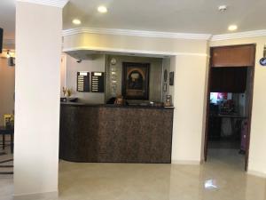 منطقة الاستقبال أو اللوبي في فندق توبكابي