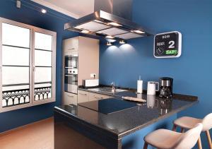 Cuisine ou kitchenette dans l'établissement Ziggy Blues