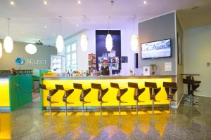 The lounge or bar area at Select Hotel Berlin Checkpoint Charlie