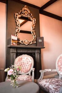 A seating area at The Oak House Hotel