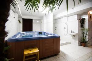 Kúpele alebo wellness v ubytovaní Hotel Squash Centrum