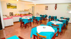 A restaurant or other place to eat at Hotel Village Foz