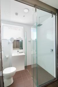 A bathroom at 57Hotel