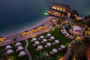 A bird's-eye view of Beach Rotana - Abu Dhabi