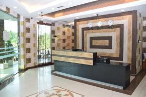 The lobby or reception area at Sky Star Hotel KLIA/KLIA2